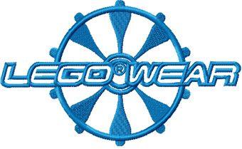 Lego Wear 1 machine embroidery design