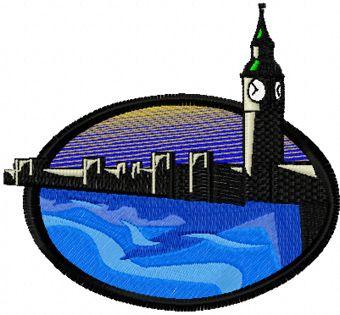 London free machine embroidery design