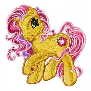 My Little Pony embroidery design 2