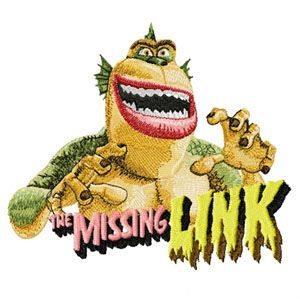 The Missing Link machine embroidery design