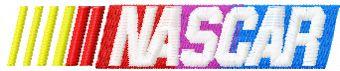 Nascar Racing logo machine embroidery design