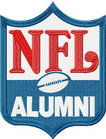 National Football League Alternate Logo machine embroidery design