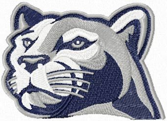 Penn State Nittany Lions logo 2 machine embroidery design