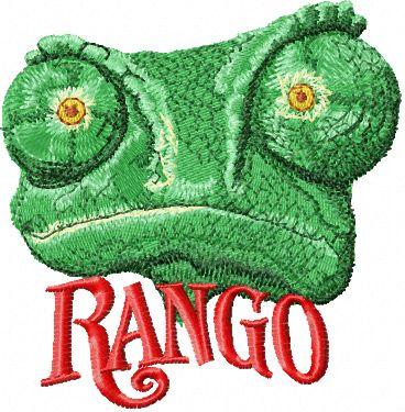 Rango embroidery design 2
