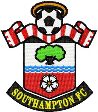 Southampton Football Club Logo machine embroidery design