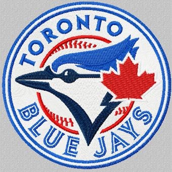 Toronto Blue Jays machine embroidery design