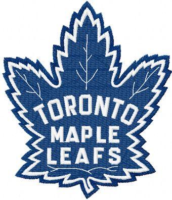 Toronto Maple Leafs machine embroidery design