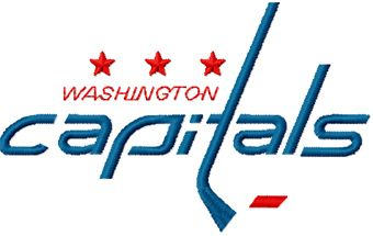Washington Capitals Logo machine embroidery design