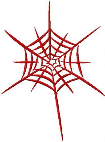 Web 2 free machine embroidery design