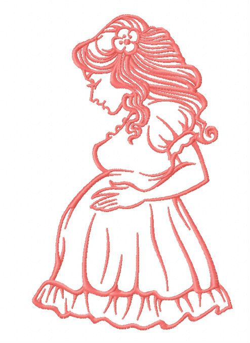 Baby on board embroidery design 2