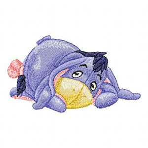 Baby Eeyore 3 embroidery design