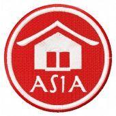 Asia badge free embroidery design