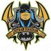 Batman Gotham Guardian embroidery design