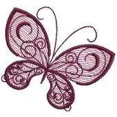 Butterfly 17 embroidery design