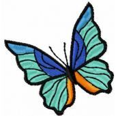 Butterfly free embroidery design 11