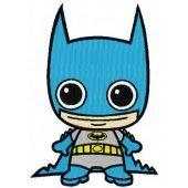 Chibi Batman machine embroidery design