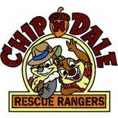 Chip & Dale Rescue Rangers big size embroidery design