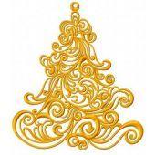 Christmas decoration machine embroidery design 11