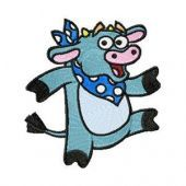 Cow - Dora's friend embroidery design