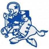 Dallas Cowboys logo 2 machine embroidery design
