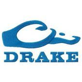 Drake logo machine embroidery design