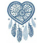 Dreamcatcher embroidery design 21