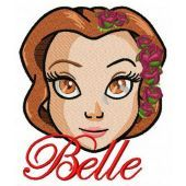 Fancy Belle machine embroidery design 4