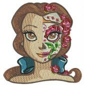 Fancy Belle machine embroidery design