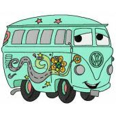 Fillmore volkswagen bus 2 embroidery design