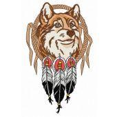 Fox and dreamcatcher