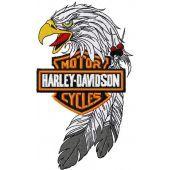 Harley Davidson eagle logo