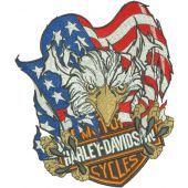 Harley Davidson Patriotic