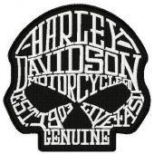 Harley Davidson scull