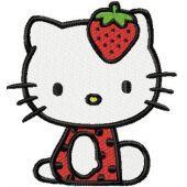 Hello Kitty Strawberry Costume