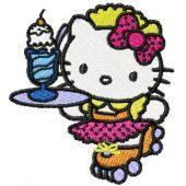 Hello Kitty Waitress