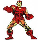 Iron Man embroidery design 1