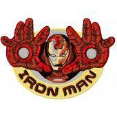 iron man embroidery design