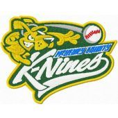 K-Nines Baseball logo machine embroidery design