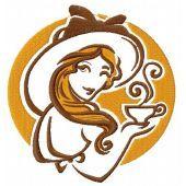 Lady's coffee break 3