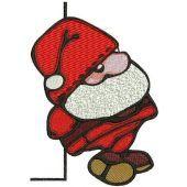 Little Santa machine embroidery design