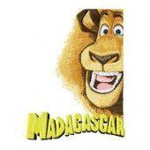 Lion Alex embroidery design