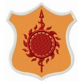 Martell shield from Game of Thrones