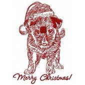 Merry Christmas puppy