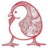 Mosaic chicken 2