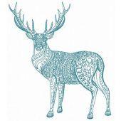 Mosaic deer 6
