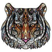 Mosaic tiger