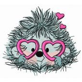 My prickly Valentine embroidery design 4