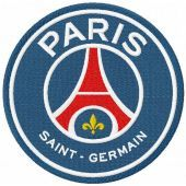 Paris Saint-Germain logo 2020 embroidery design