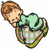 My Sweet Baby embroidery design