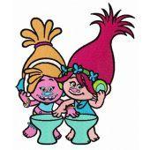 Princess Poppy and DJ Suki